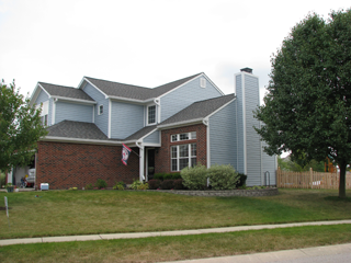 Siding Installation Example Five - Indianapolis Client